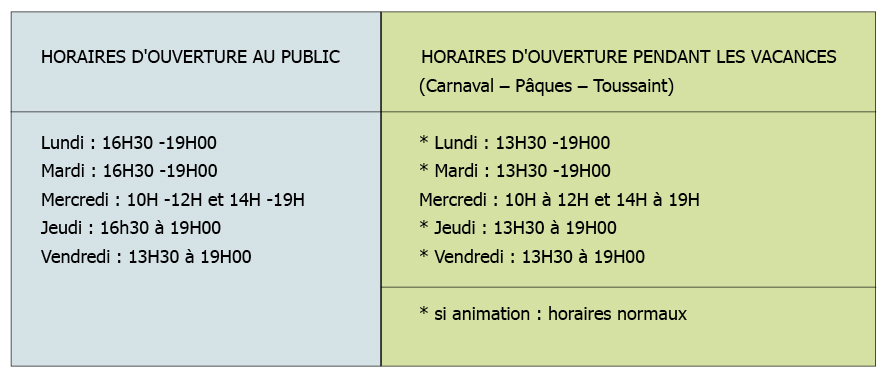 chemaudin-mediatheque-horaire