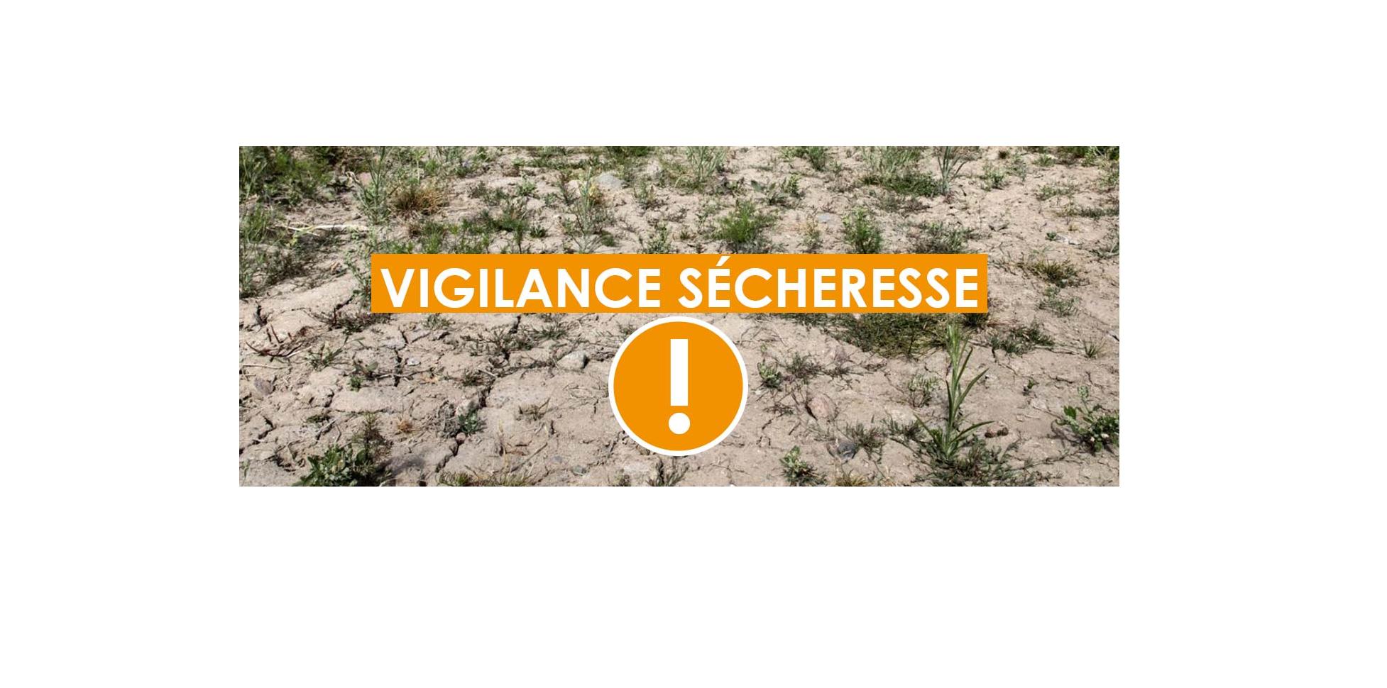 Alerte Sécheresse 2019 : Niveau Renforcé
