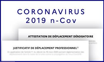 Covid19 – Déplacements