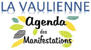 LA VAULIENNE – Agenda été 2020
