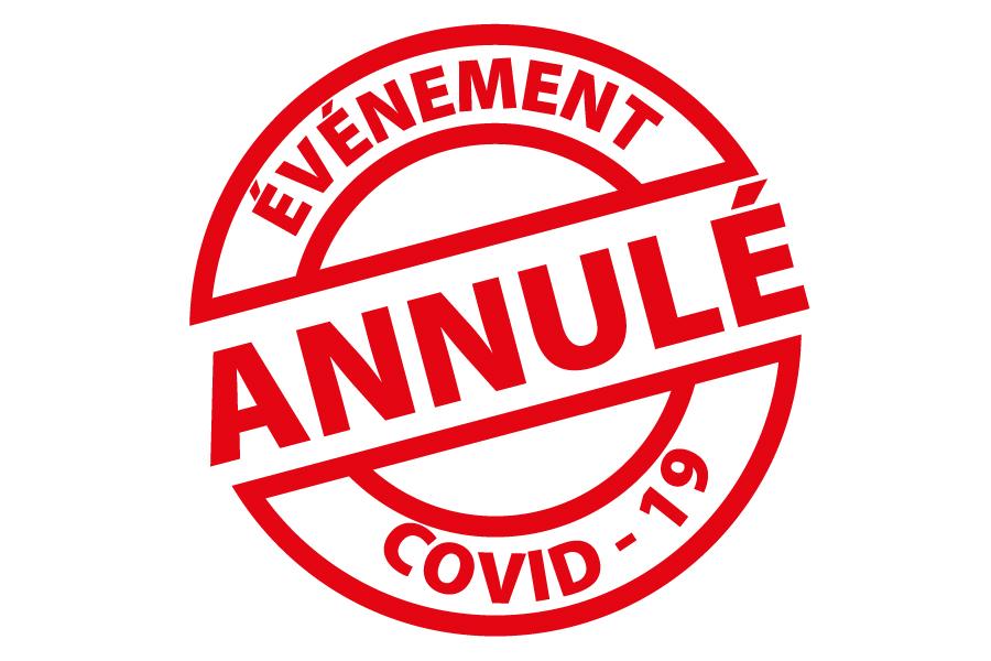 Covid 19 : annulation de manifestations - Commune de Chemaudin et Vaux